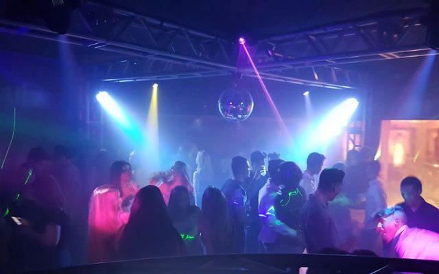 Iluminação de led para pistas de dança